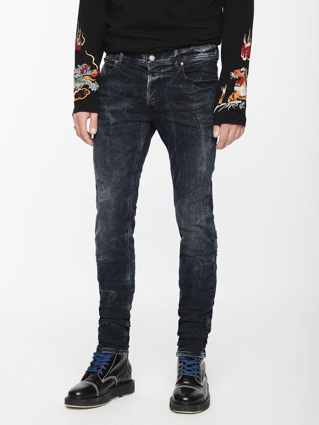 Diesel - Sleenker 084VR, Black/Dark grey - Jeans - Image 1