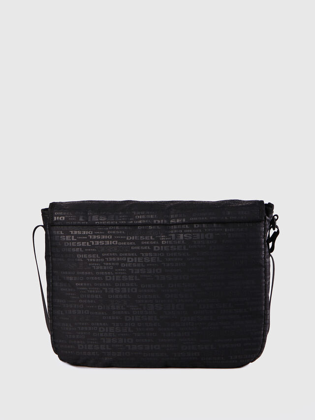 Diesel - F-DISCOVER MESSENGER, Black/Red - Crossbody Bags - Image 3