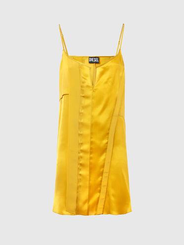 Slip dress in silk blend