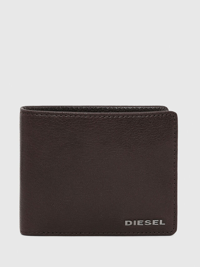 Diesel HIRESH S, Brown - Small Wallets - Image 1