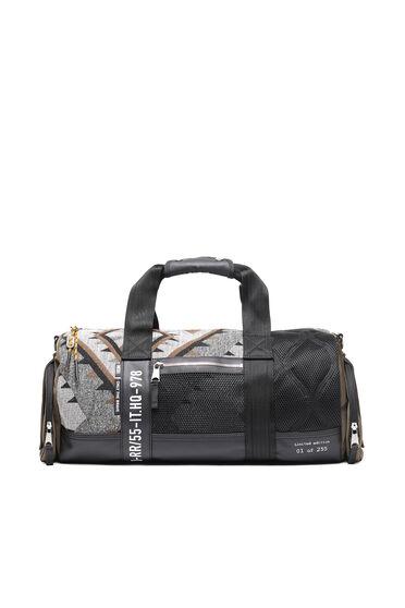 Duffle bag with Navajo motif