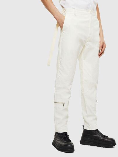 Diesel - P-ARMY, White - Pants - Image 4