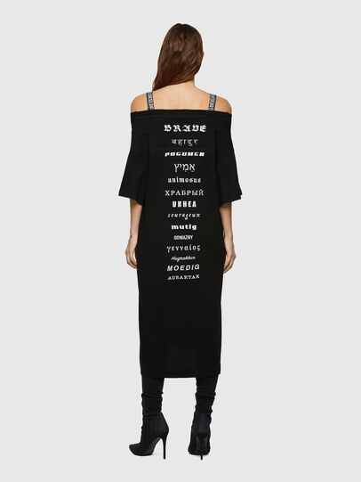 Diesel - D-WORKIE, Black - Dresses - Image 2