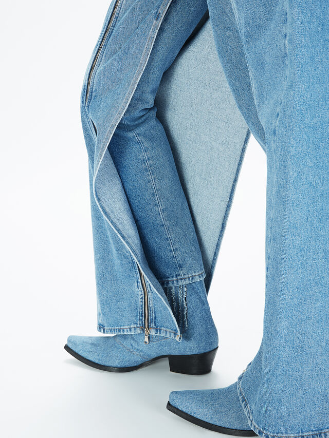 Diesel - SOWL01, Light Blue - Pants - Image 5
