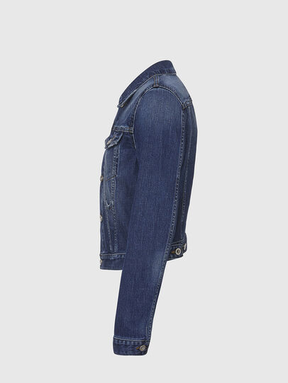 Diesel - DE-LIMMY, Dark Blue - Denim Jackets - Image 3