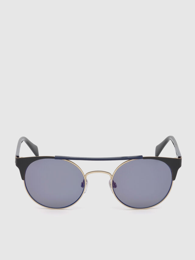 Diesel - DL0218, Black/Blue - Sunglasses - Image 1