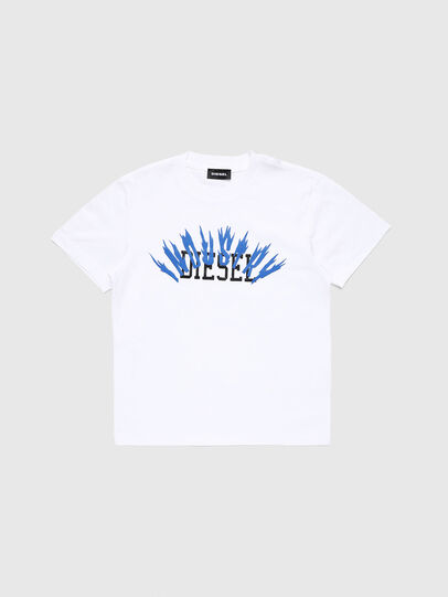 Diesel - TDIEGOA10, White - T-shirts and Tops - Image 1