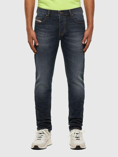 Diesel - D-Luster 009EM, Dark Blue - Jeans - Image 1