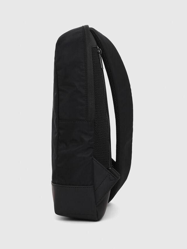 Diesel - F-SUSE MONO, Black - Travel Bags - Image 3