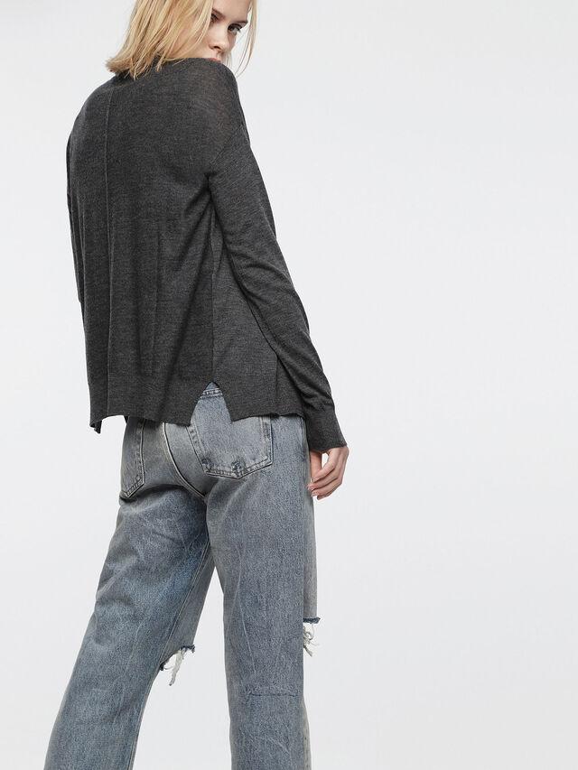 Diesel - M-STILES, Dark grey - Knitwear - Image 2