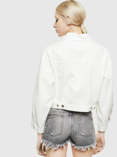 Diesel - DE-CATY, White - Denim Jackets - Image 2