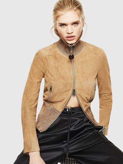 Diesel - L-LYS-A,  - Leather jackets - Image 4