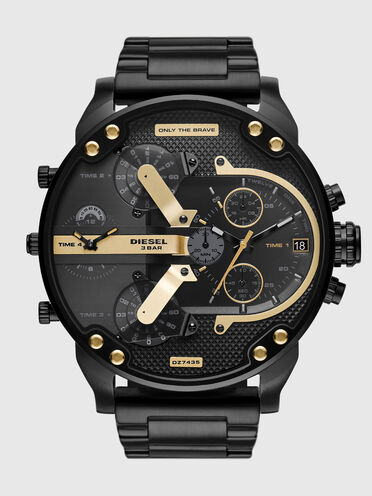 Mr. Daddy 2.0 chronograph black stainless steel watch