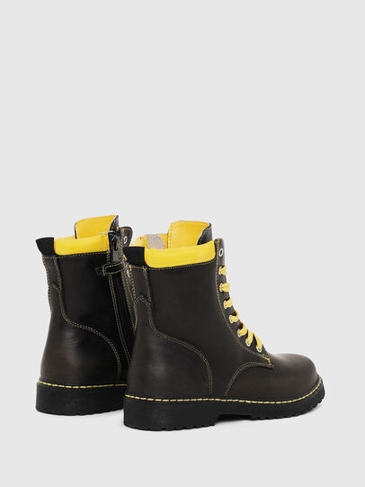 Diesel - HB LACE UP 04 YO, Black - Footwear - Image 3