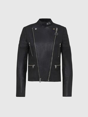 L-MARS, Black - Leather jackets