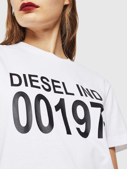 Diesel - T-DIEGO-001978, White - T-Shirts - Image 5