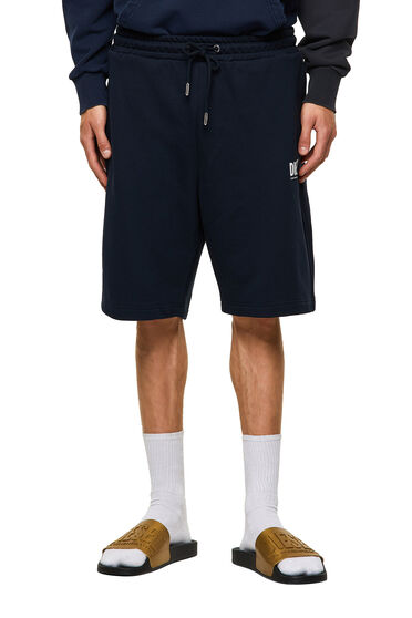 Green Label shorts with logo print