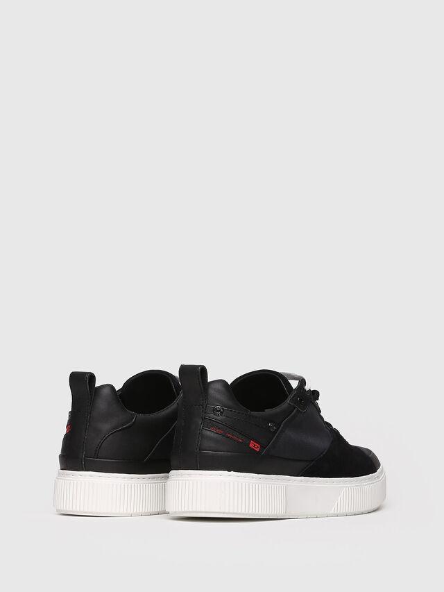 Diesel - S-DANNY LC W, Black - Sneakers - Image 2