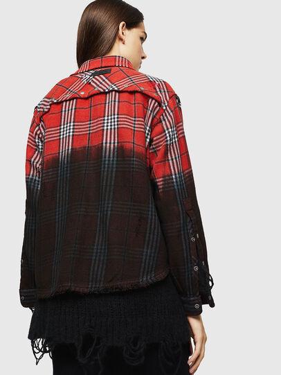 Diesel - C-SUPER-G, Red/Black - Shirts - Image 2