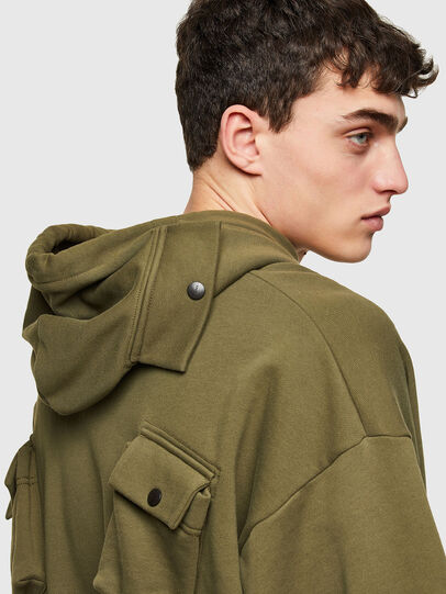 Diesel - S-ERPOCK, Military Green - Sweaters - Image 3