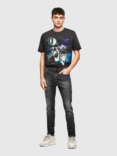 Diesel - D-Reeft JoggJeans® 009SU, Black/Dark grey - Jeans - Image 5
