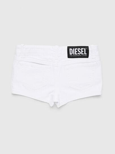 Diesel - PRIRAZ-N, White - Shorts - Image 2