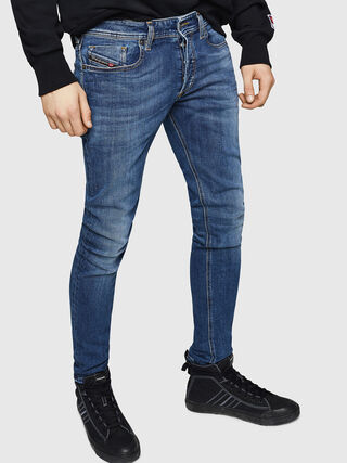 45cbdf5a Sleenker 069FZ, Medium blue - Jeans. Skinny - Sleenker