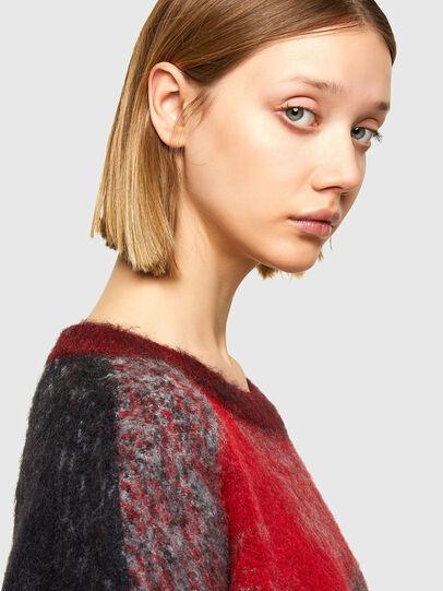 Diesel - M-BRONJA, Black/Red - Knitwear - Image 3