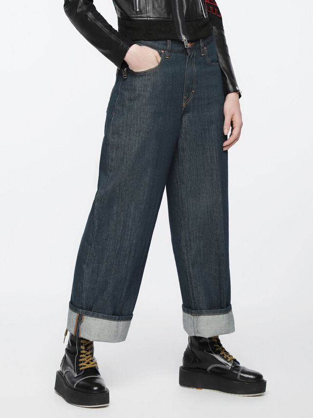 Diesel - Widee 084UR, Dark Blue - Jeans - Image 3