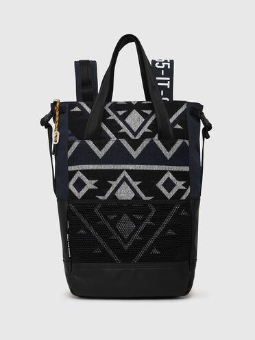 Convertible shopper with Navajo motif