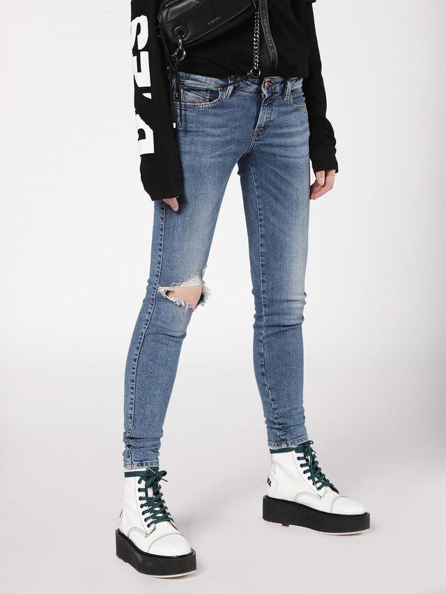 Diesel - Gracey 069AI, Medium blue - Jeans - Image 1