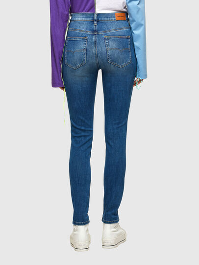 Diesel - D-Roisin High 009PE, Medium blue - Jeans - Image 2
