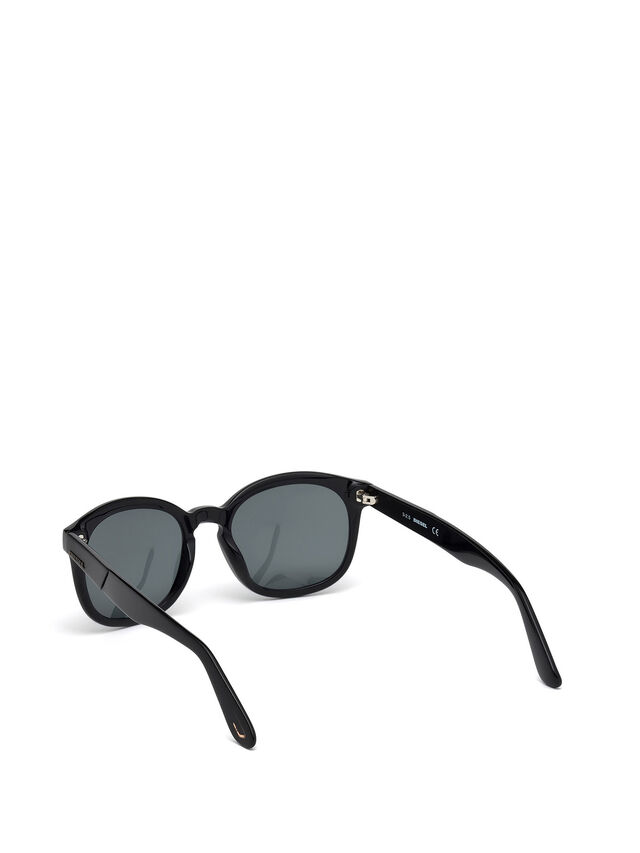 Diesel - DM0190, Black - Sunglasses - Image 2