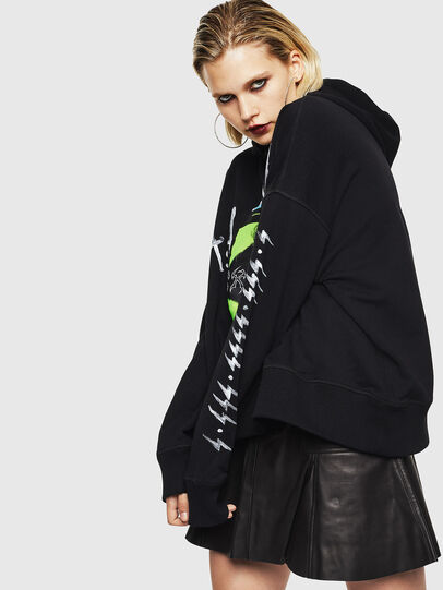 Diesel - F-MAGGY, Black - Sweaters - Image 5