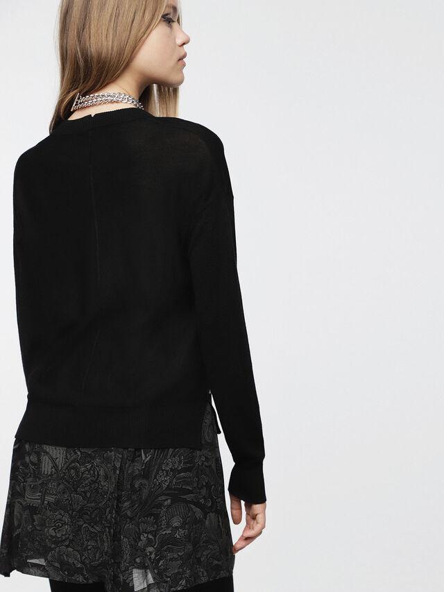Diesel - M-AGG, Black - Knitwear - Image 2