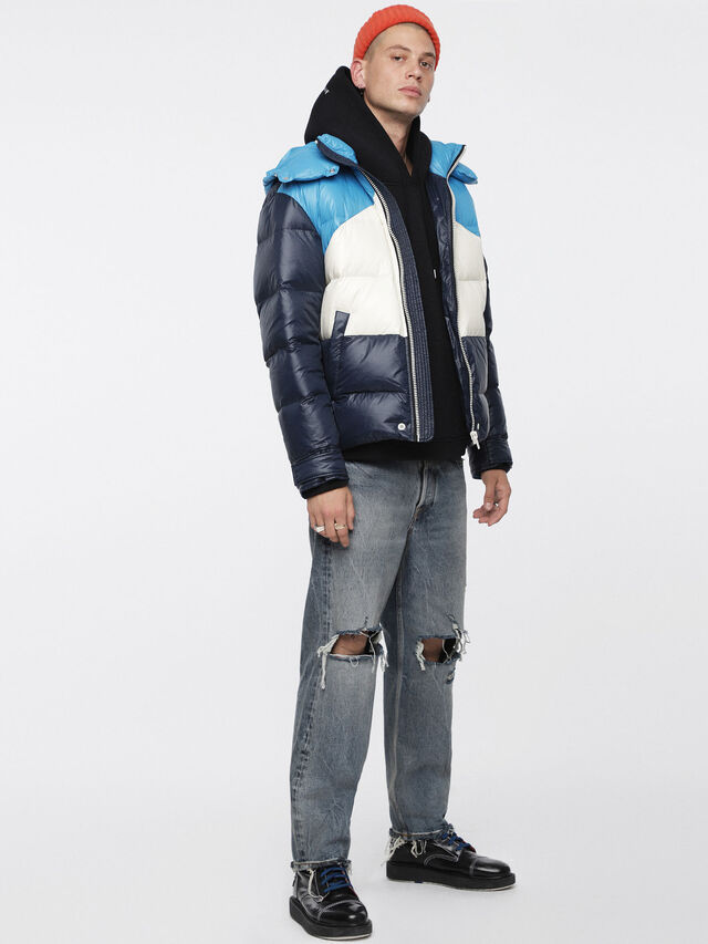 Diesel - W-SMITH, Multicolor/Blue - Winter Jackets - Image 6