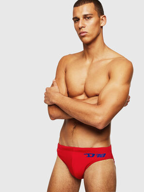 BMBR-JACK, Fire Red - Swim briefs
