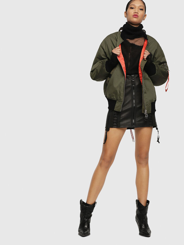 Diesel - W-ZALIA, Military Green - Winter Jackets - Image 5