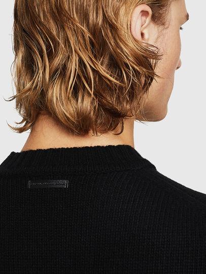 Diesel - KLATO, Black - Knitwear - Image 5