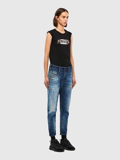 Diesel - Fayza 009LF, Medium blue - Jeans - Image 6