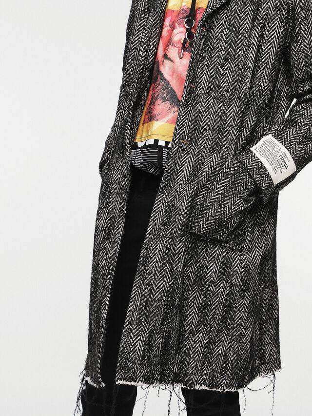 Diesel - W-DEXT, Black Melange - Winter Jackets - Image 4