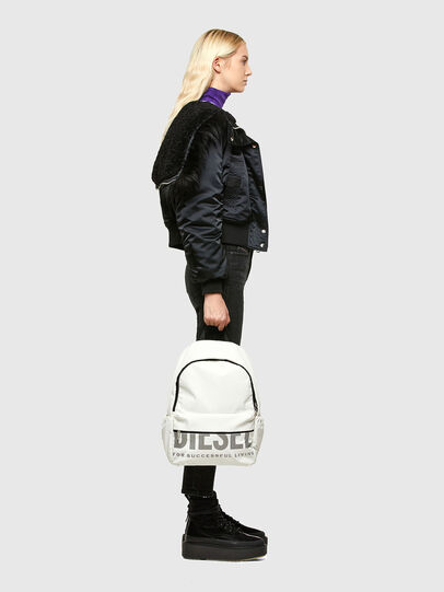 Diesel - F-BOLD BACK III, White - Backpacks - Image 6
