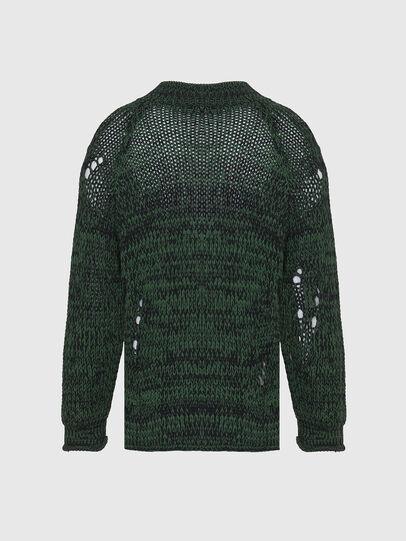 Diesel - K-FLYNN, Green - Knitwear - Image 2