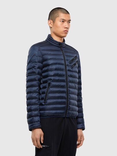 Diesel - W-DOLMIR-KA, Dark Blue - Winter Jackets - Image 4