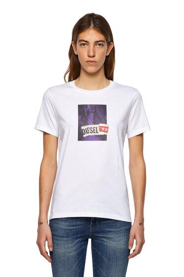 T-shirt with digital photo print
