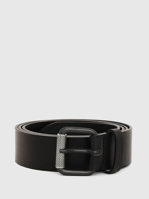 B-PLATE, Black - Belts