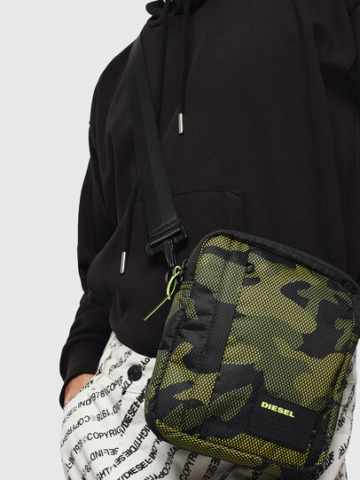 Diesel - ODERZO, Green Camouflage - Crossbody Bags - Image 7