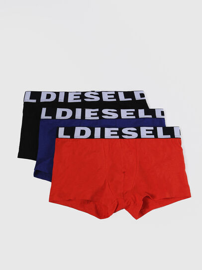 Diesel - UMBX-SHAWNTHREEPACK, Black/Blue - Trunks - Image 1