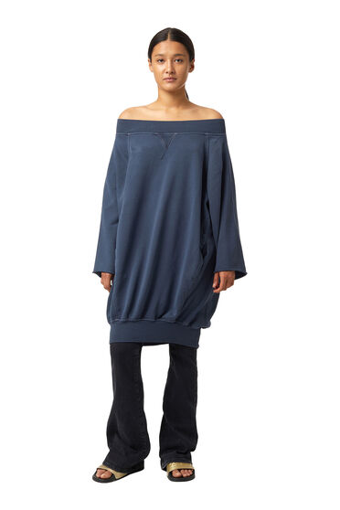 Cocoon sweatshirt dress