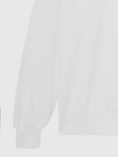 Diesel - S-GIR-HOOD-DIVISION-, White - Sweaters - Image 4